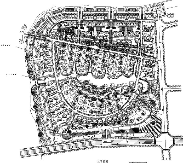 最全绿地规划设计平面图CAD108套