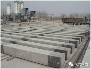 桥梁预制混凝土柱和盖梁技术