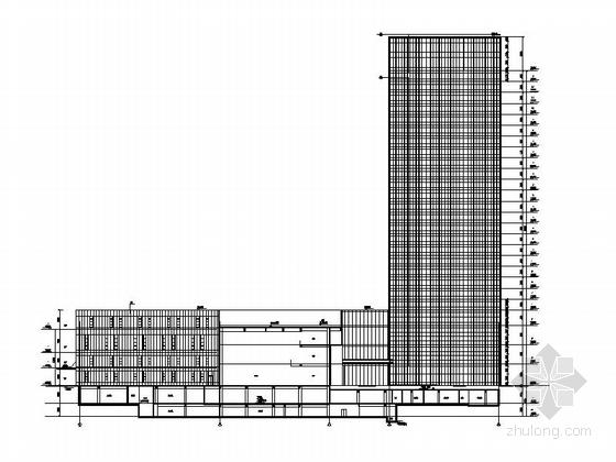 [合集]3套高层知名五星级酒店建筑施工图_10