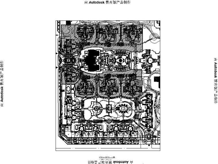 [四川]高档别墅区全套景观设计施工图(附实景照片)