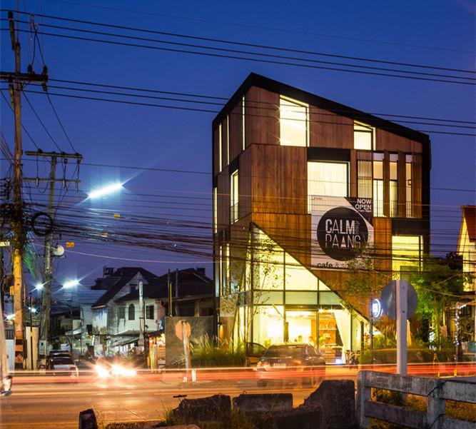 泰国Calm Paang综合建筑