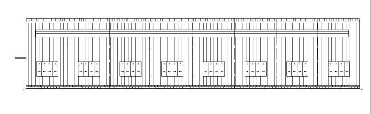 [武汉]单层钢结构厂房建筑施工图