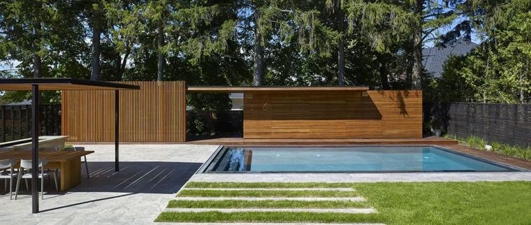 加拿大游泳池木屋-2