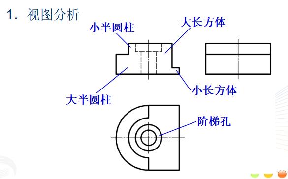 工程识图与AutoCAD之四组合体课件PPT(48页)