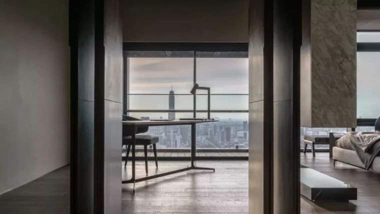 室内设计 130㎡的单身公寓,设计感十足_37