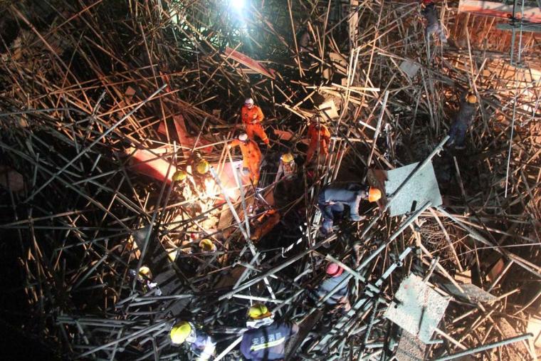 建筑施工安全事故案例模板工程坍塌事故