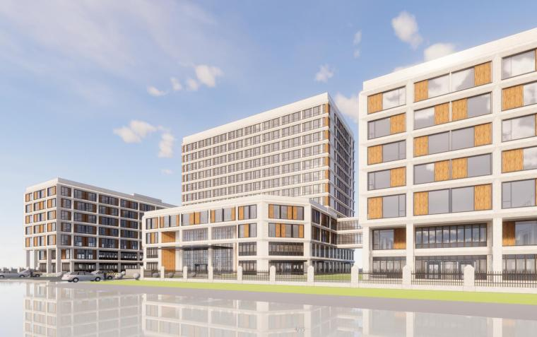 吉林国健高新妇产医院建筑模型(2018年)