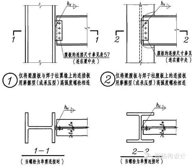 钢结构梁柱连接节点构造详解_14