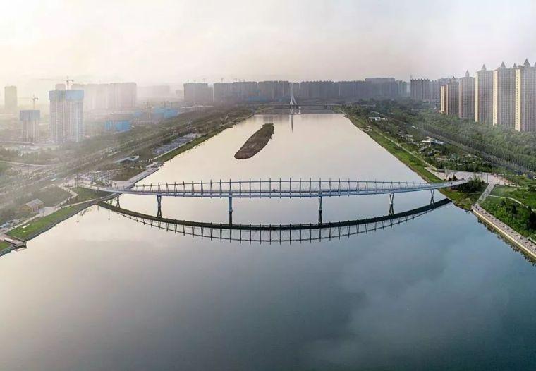 """太原""""汾河之冠""""人行景观桥,尽展结构技艺之美!_2"""