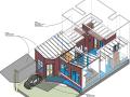 BIM模型-revit模型-单层别墅设计