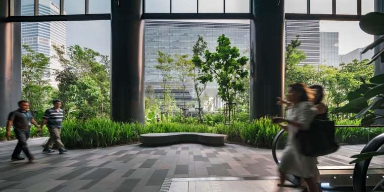 新加坡Comtech商业园区景观-17