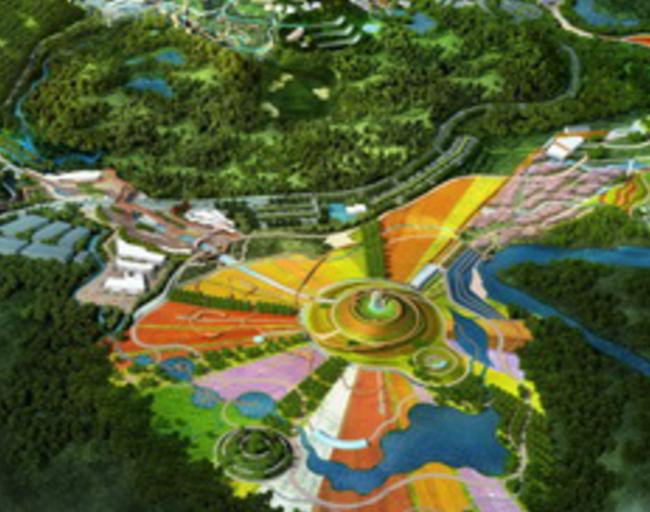 尼塔对峨嵋旅游度假区植物主题园的规划
