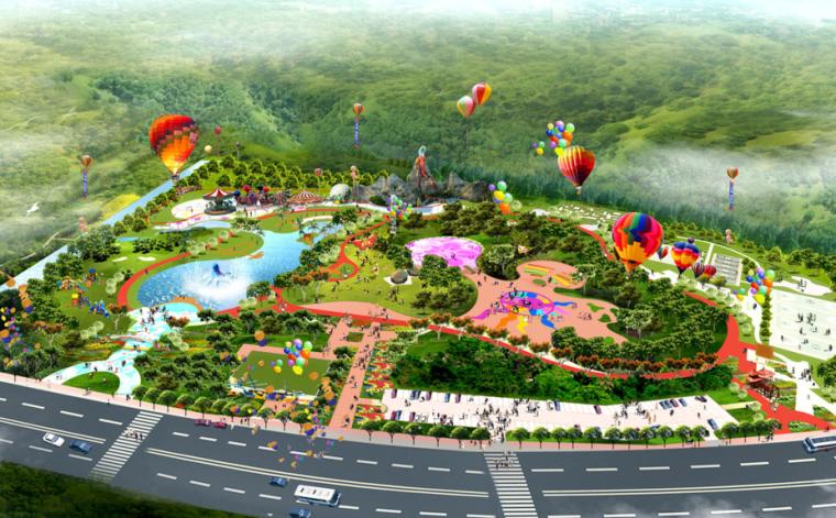 [广州]南沙区儿童公园景观设计方案文本