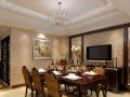 张生欧式风格别墅住宅室内装修设计施工图及效果图
