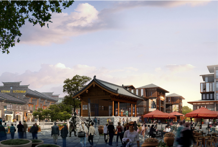 [广西]桂林正阳街东巷历史文化街区改造规划设计方案