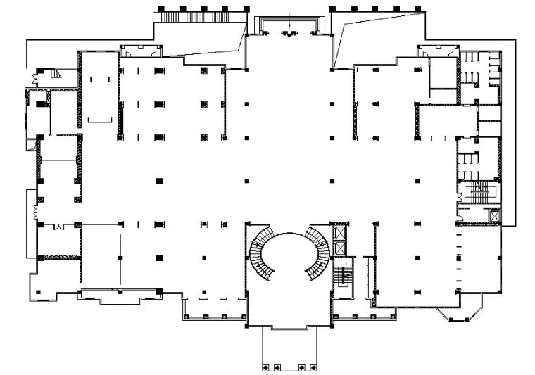 [四川]成都复地会所概念设计文本+CAD施工图+效果图+现场照片