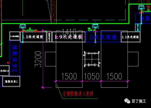 一种新型全钢式升降脚手架,在这里施工就像在室内施工一样_67