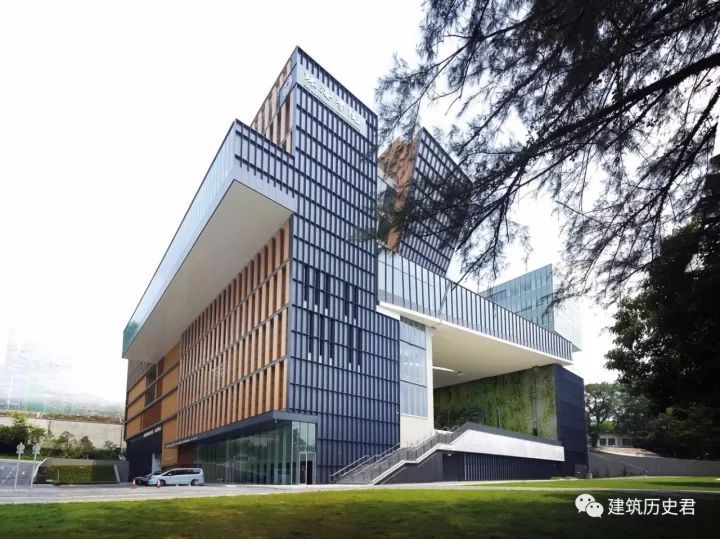 [建筑欣赏]香港珠海学院新校园图书馆