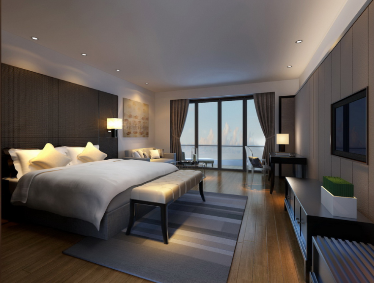 [海南]海口酒店客房设计方案