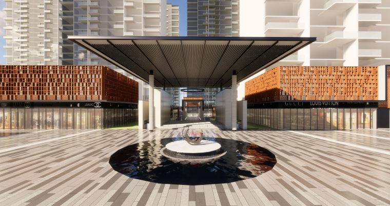 广州万科·十里春风朱村售楼处示范区模型设计(2018年资料)