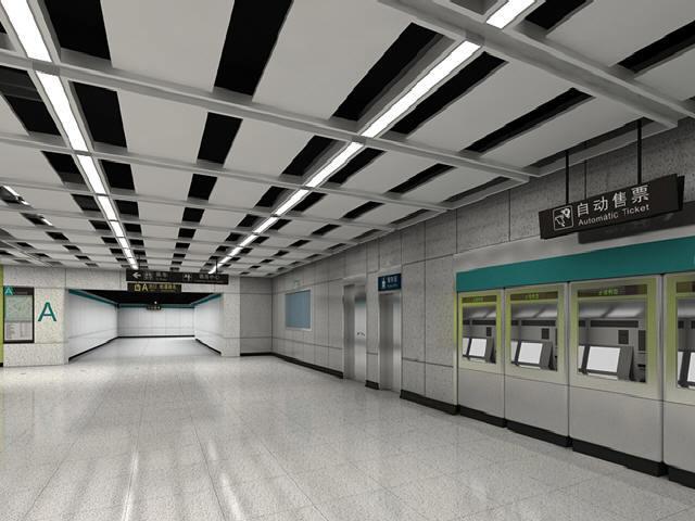 含换乘站高架站地下站30km地铁车站装修及地面附属装修设计方案116页