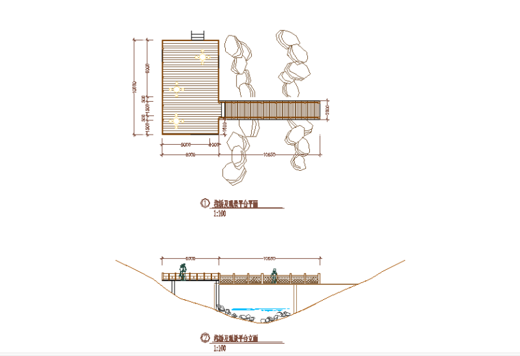 广东某湿地公园景观设计CAD施工图借鉴