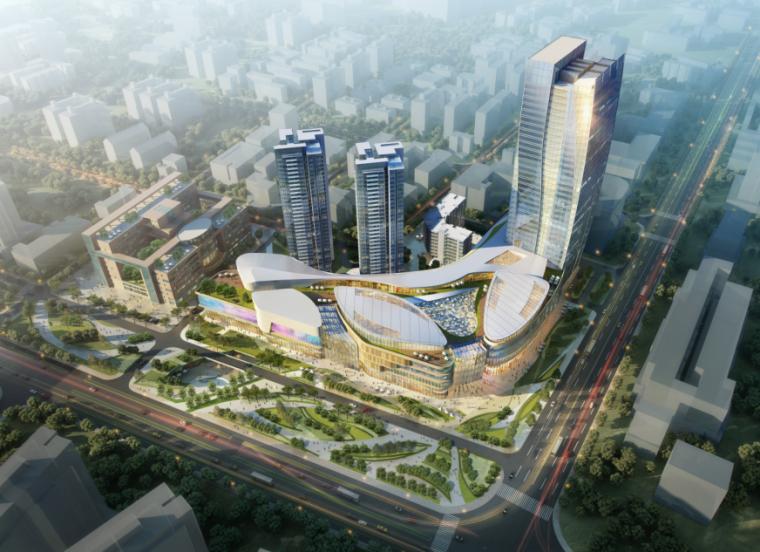 [广东]珠海优特城商业建筑设计概念方案文本(现代风格+PDF+35页)