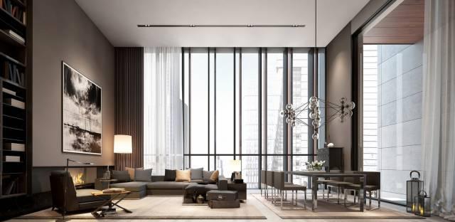 室内设计的流线与空间特征 !