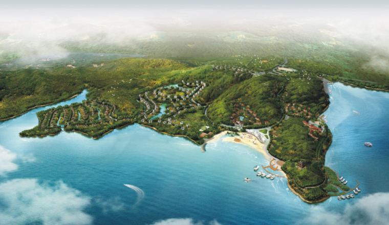 鄱阳湖国际度假村规划建筑设计方案文本