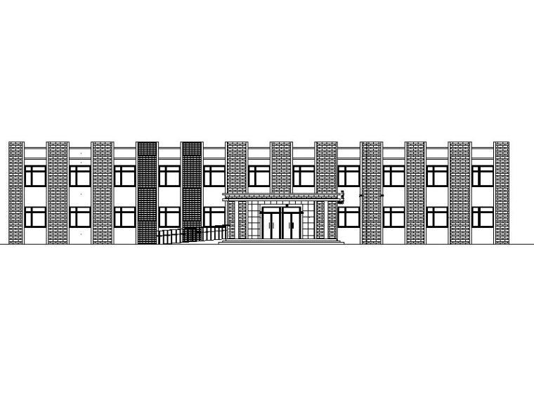 二层养老院建筑施工图