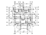 [福建]二层框架结构别墅建筑结构施工图(CAD、17张)