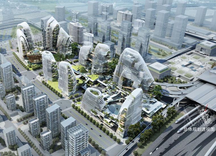 [江苏]MAD马岩松-山水城市商业综合体建筑设计方案文本(一)