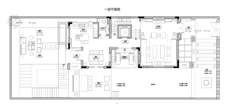 [广东]广州中海誉城现代中式别墅软装方案