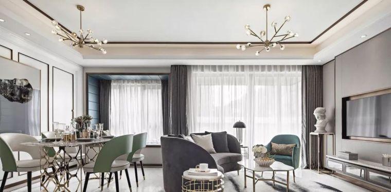 法式三居,卧室设计简洁有品味,儿童房最好看!