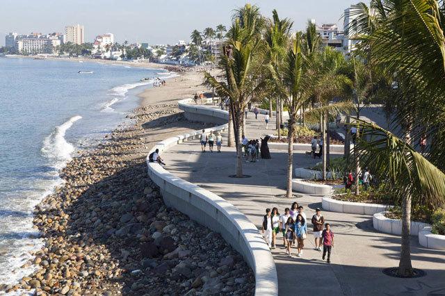 墨西哥巴亚尔塔港海滨景观设计_3
