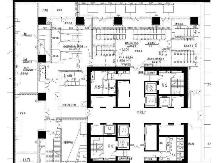 某五十二层超高商务中心(附电气、建筑、结构、空调、水多张图纸)_3