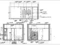 上海礼顿国际公寓B1及B2-1型样板间室内设计施工图