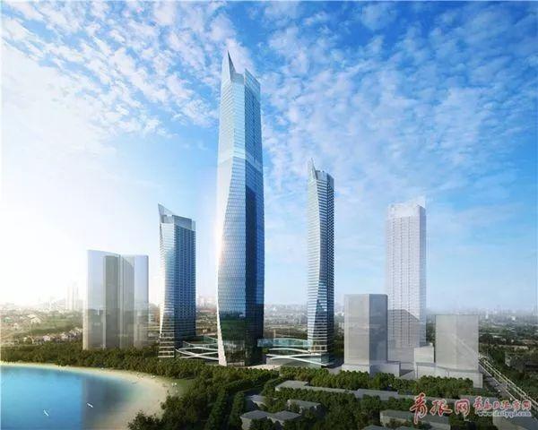 [超高层建筑]369米,青岛国信 · 海天中心,青岛第一高!