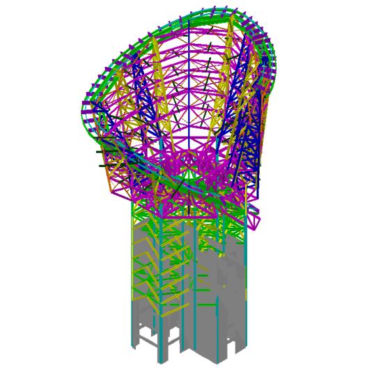 上海中心大厦模拟地震振动台模型试验初步报告