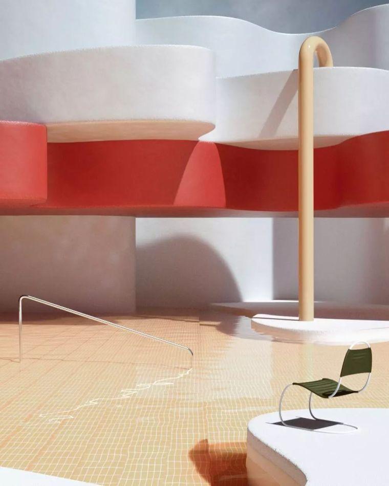 建筑设计中的点线面_6