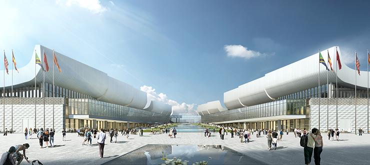 全国7大会展中心设计合集(实景图+效果图)-22