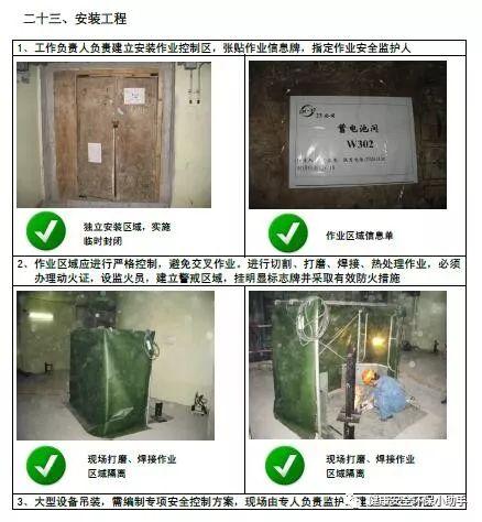 一整套工程现场安全标准图册:我给满分!_51