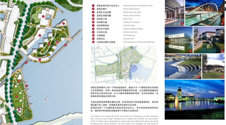 [上海]某美丽乡村新镇总体景观规划设计_11