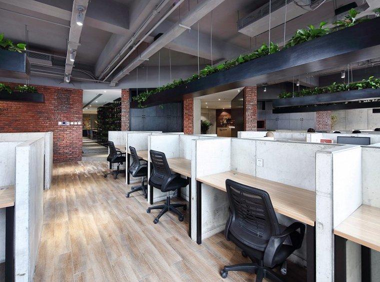 北京自然与设计的融合的办公室-10