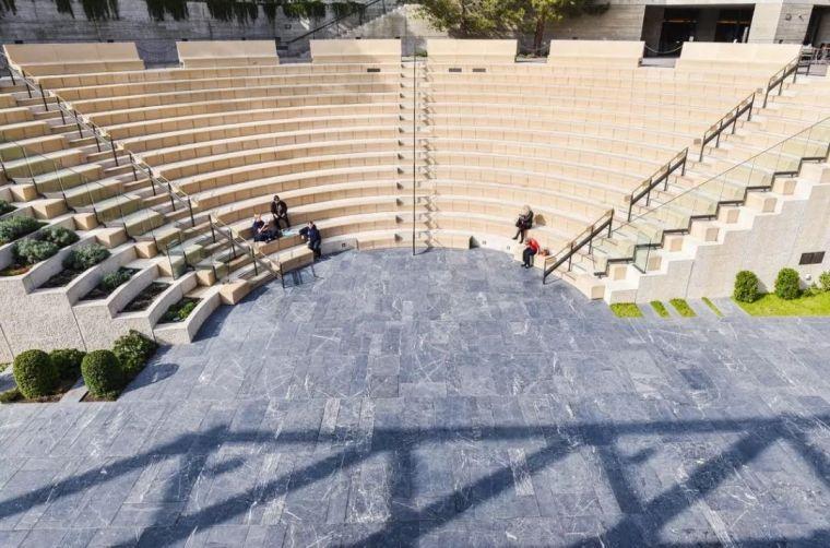 剧场建筑圆弧结构测量放线_3