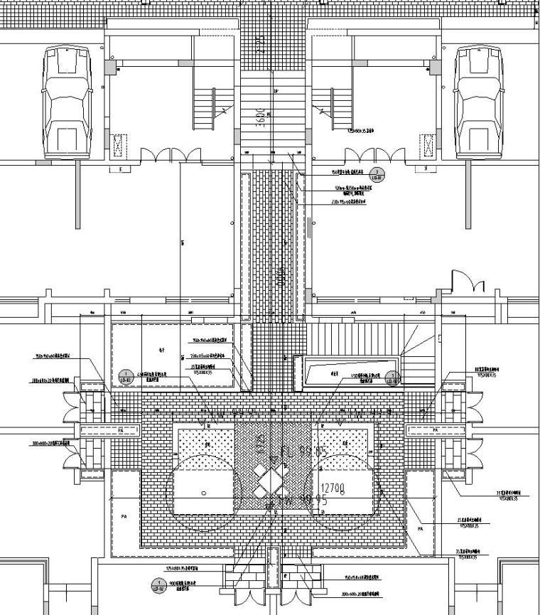 六合院平面图