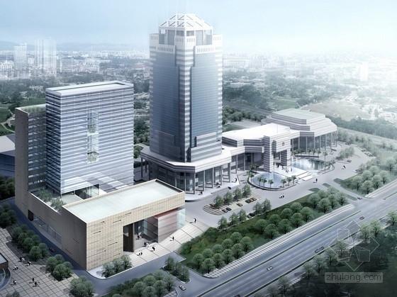 [广东]市级信息档案管理中心建筑设计方案文本(含多媒体)
