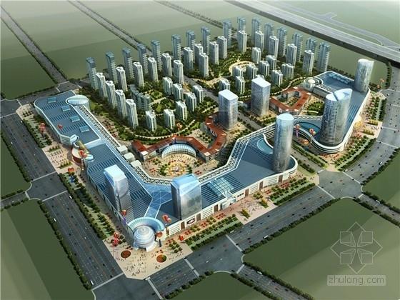 [安徽]现代风格商业综合体及住宅设计方案文本