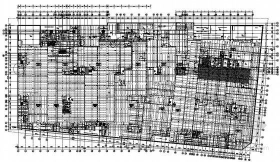 [四川]高档商业广场排水施工图192张