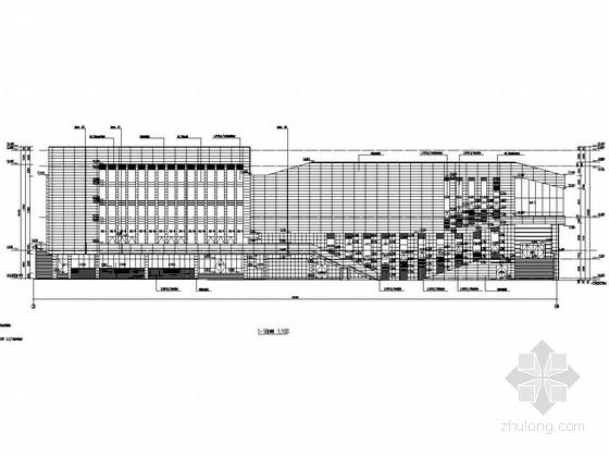 [长沙]两层框架结构中学综合馆结构施工图(含详细建筑图)